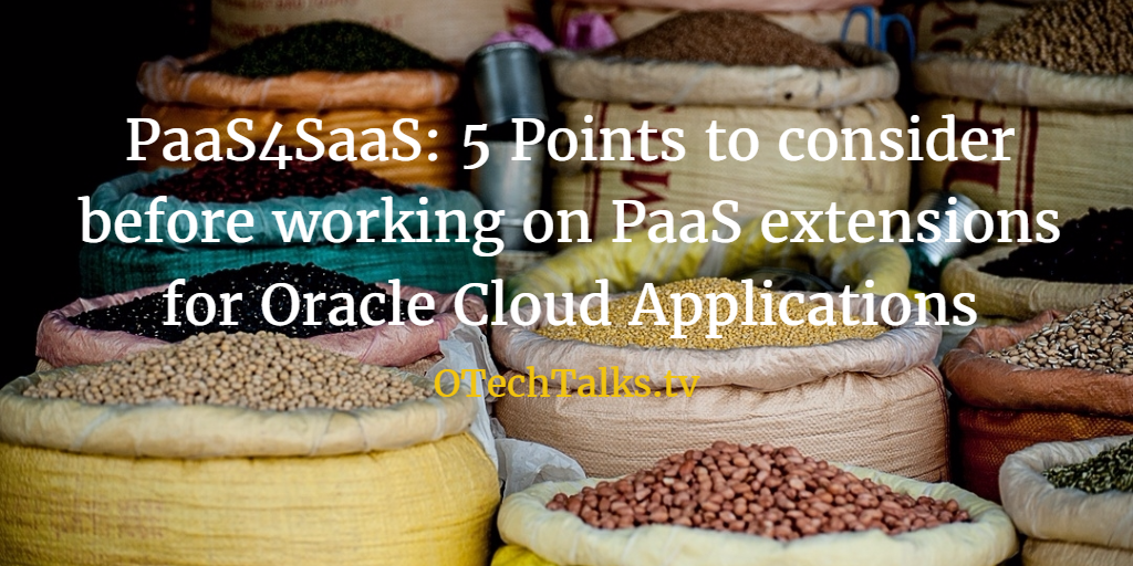5 things I wish I'd known when I started developing PaaS